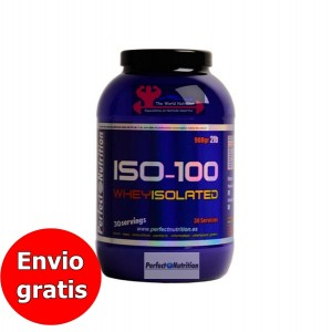 Iso-100% Whey Isolated - 2lb / 908gr